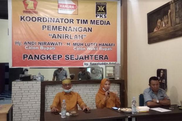Bertarung di Pilkada Pangkep, Anir-Lutfi Tak Gentar Lawan 3 Paslon