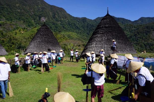 Gerakan BISA di Desa Wisata Wae Rebo Libatkan Masyarakat Setempat