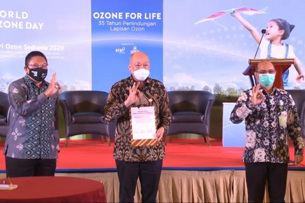 Sambut Hari Ozon, KLHK Beri Bantuan Peralatan kepada Teknisi
