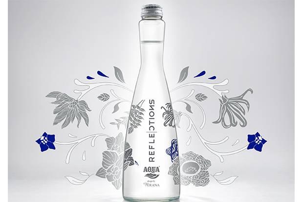 Kolaborasi Unik Aqua, Starbucks, dan Purana