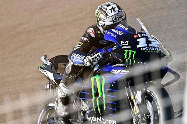 Maverick Vinales Pimpin Balapan MotoGP Emilia Romagna