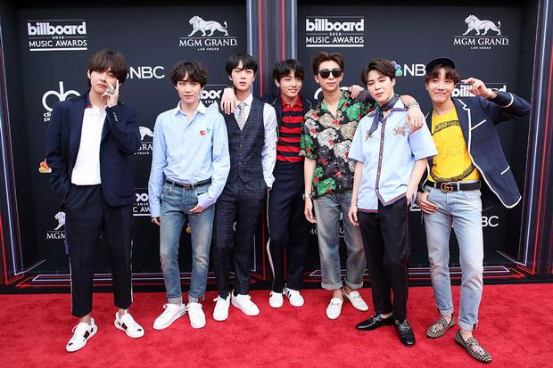 BTS Empat Tahun BeruntunMasuk Nominasi Billboard Music Awards