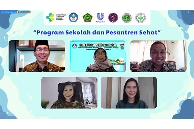 Program Sekolah dan Pesantren Sehat Sukses Tanamkan PHBS pada 10 Juta Anak