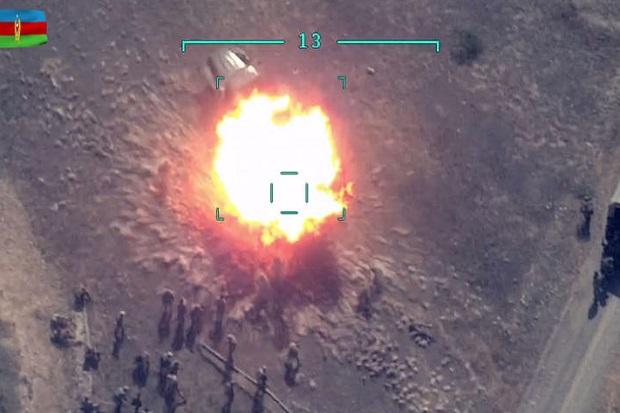 Dibombardir Artileri Azerbaijan, Pasukan Armenia Menangis Ingin Pulang
