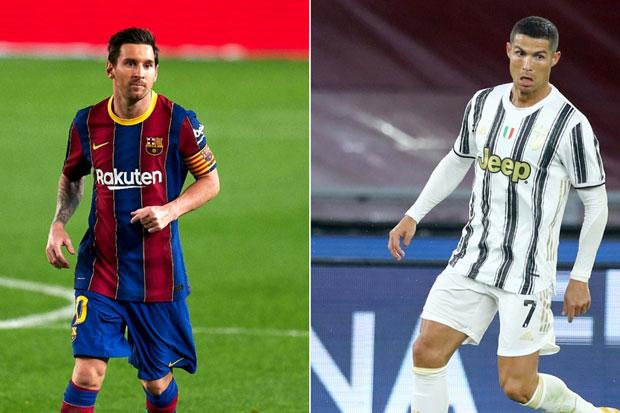 Messi dan Ronaldo Akan Berhadapan di Penyisihan Grup Liga Champions