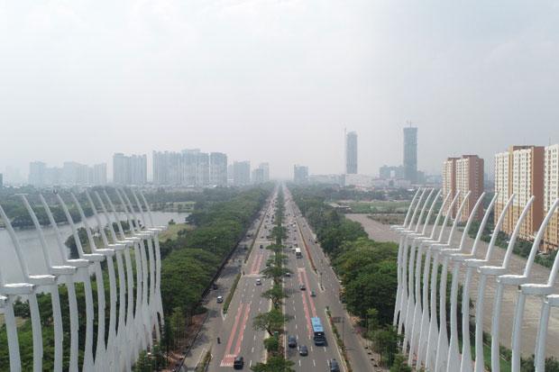 Kawasan Smart City dan Pesona Kemegahan Gerbang Kemayoran