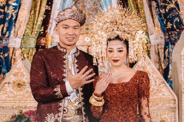 Nikita Willy Indra Priawan Nikah, Mas Kawinnya Emas 75 Gram Bertahta Berlian