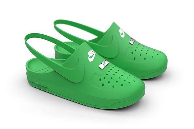 Crocs x Nike Kolaborasi untuk Sepatu Hybrid Air Force 1