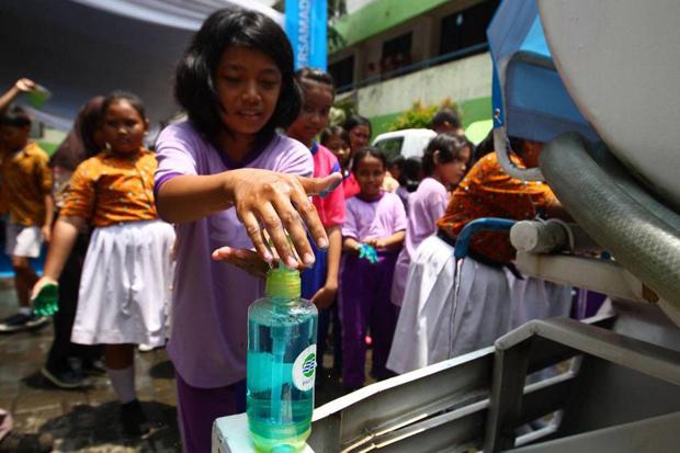 Cuci Tangan Pakai Sabun Lebih Efektif Bunuh Virus Corona