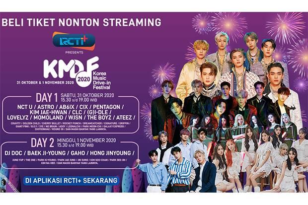 Siap-Siap Para K-Popers! Korea Music Drive-In Festival 2020 Akan Hadir di RCTI+