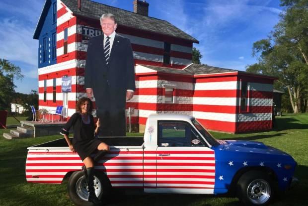 Mobil-mobil Unik Pendukung Donald Trump saat Kampanye