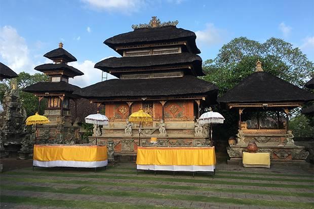 Puseh Batuan, Pesona Pura Tertua di Bali