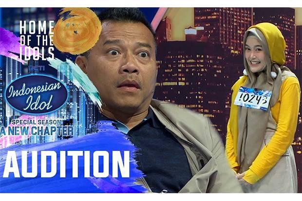 Diwarnai Aksi-Aksi Unik, Audisi Indonesian Idol Viral!