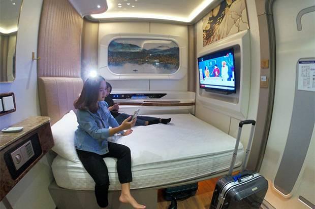 Sensasi Menginap di Hotel Kapsul Berkonsep Kapal Pesiar Mewah