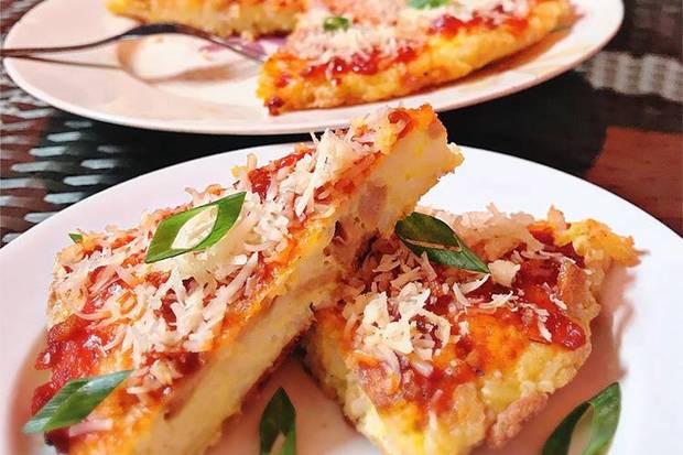 Mari Coba Pizza Nasi yang Lagi Viral, Ini Resep Mudahnya