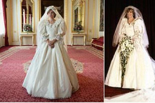 Pembuatan Gaun Pengantin Putri Diana di 'The Crown' Habiskan Waktu 14 Minggu