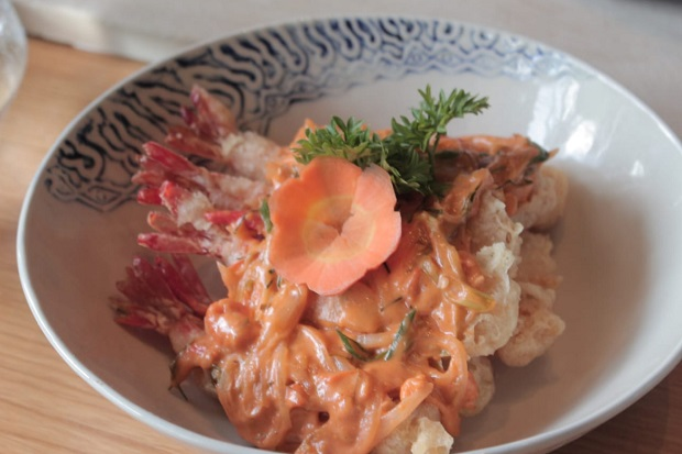Simak V Cooking Class from Home, Ini Resep Udang Telur Asin Super Crispy!