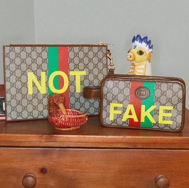 Gucci Sindir Pengguna Produk Palsu, Rilis Koleksi Fake Not