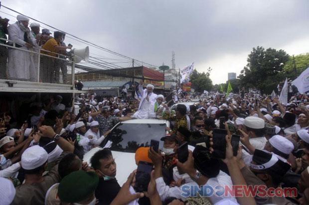Tak Tahun Keberadaan Habib Rizieq, FPI Pastikan Kondisinya Baik