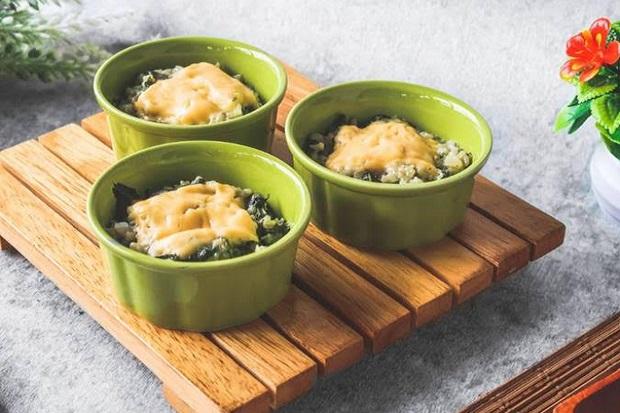 Resep Nasi Bayam Kukus, Cocok untuk Menu Sehari-Hari