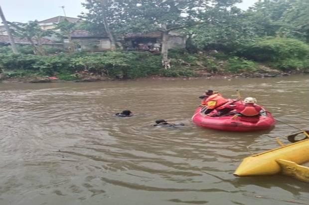 Pandu Tewas Tenggelam di Kali Ciliwung