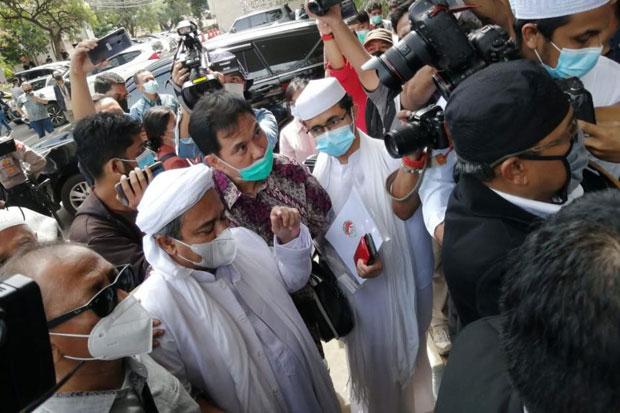 Tim Kesehatan dari Mer-C Datangi Polda Metro, Cek Kesehatan Habib Rizieq?