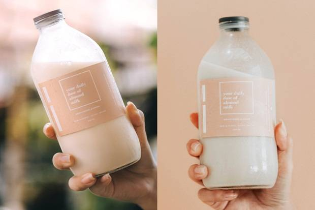 Susu Almond, Sumber Protein Alternatif untuk Anda yang Alergi Susu Sapi
