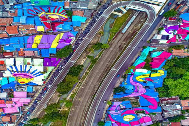 DKI Pamer Atap Rumah Warna Warni di Lenteng Agung, Netizen: Anies Buang-buang Anggaran