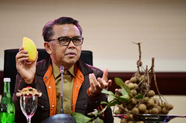 Nurdin Abdullah Sajikan Buah Hasil Kebun Sendiri di Acara Coffee Morning