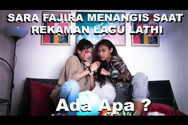 Sara Fajira Ungkap Dirinya Menangis saat Rekaman Lagu Lathi, Ada Apa?