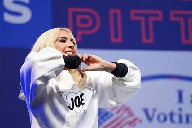 Lady Gaga Didaulat Nyanyikan Lagu Kebangsaan AS pada Pelantikan Joe Biden-Kamala Harris