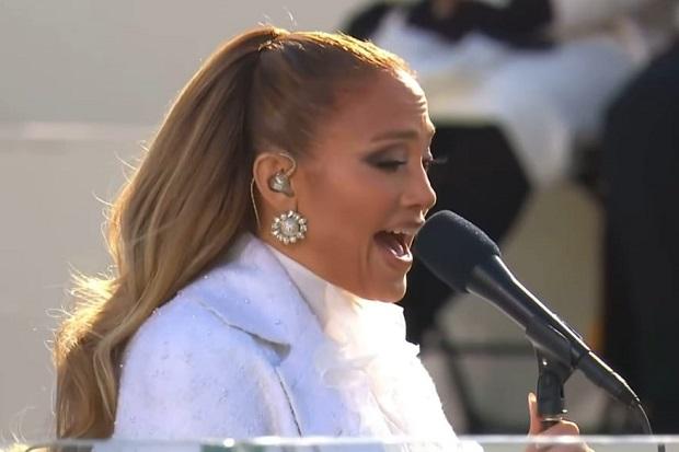 Jennifer Lopez Berteriak dalam Bahasa Latin di Pelantikan Joe Biden, Apa Artinya?