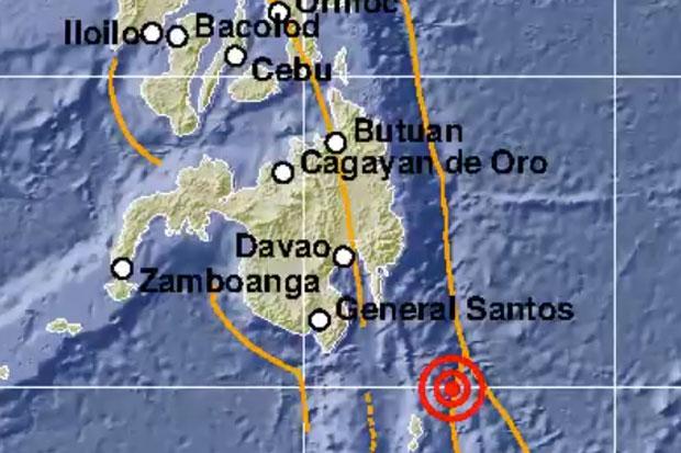 Gempa Berkekuatan 7,1 SR Guncang Sulawesi Utara