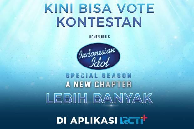 Dukung Kontestan Indonesian Idol? Ini Tutorial Tambah Kuota Voting dengan RCTI+ & SPIN Pay!