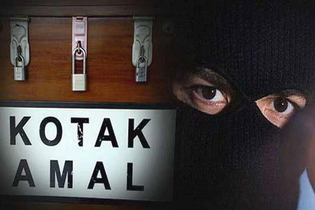 Terekam CCTV, Maling Kotak Amal di Pesanggrahan Viral di Medsos