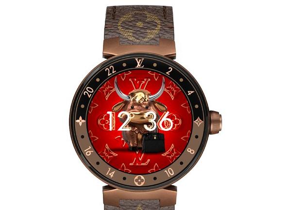 Unik, Smartwatch Louis Vuitton Punya Fitur Lambang 12 Shio