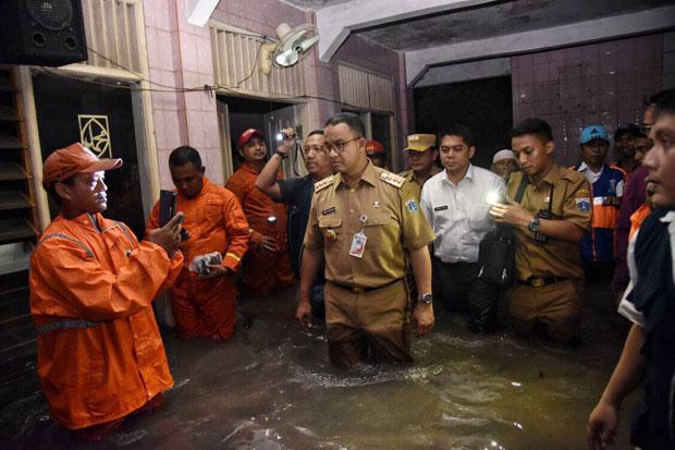 Temukan Genangan atau Banjir di Jakarta, Ini Saran Anies