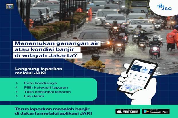 Netizen Bilang Ngga Usah Lapor Jakarta Banjir, Sebentar Lagi Juga Banyak yang Teriak-teriak