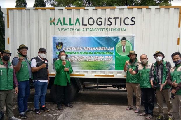 UMI Kirimkan Bantuan Logistik untuk Korban Bencana di Sulbar