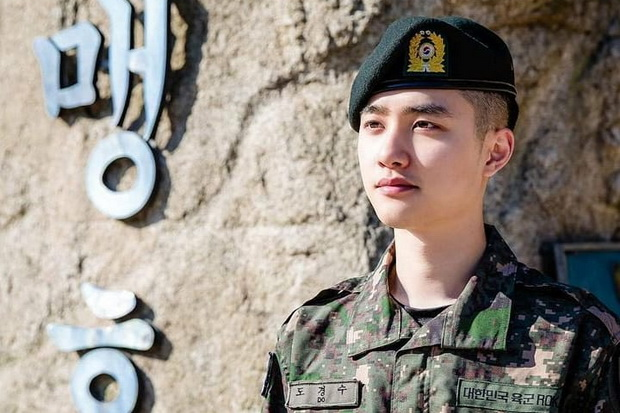 Tuntaskan Wamil, DO EXO Sampaikan Pesan Manis ke Penggemar