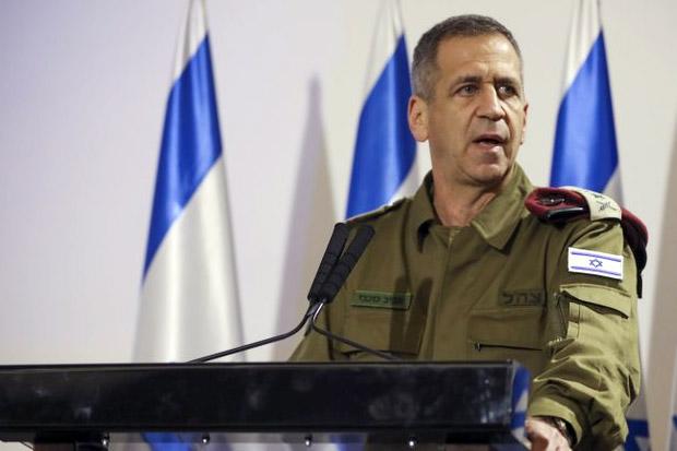 Panglima Militer Israel Umumkan Rencana untuk Menyerang Iran