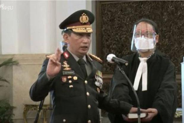 Jenderal Listyo Sigit Prabowo Resmi Dilantik Sebagai Kapolri