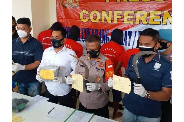 Kerap Sasar Karyawan Pabrik, Kawanan Begal Sadis di Kawasan Industri Bekasi Diciduk