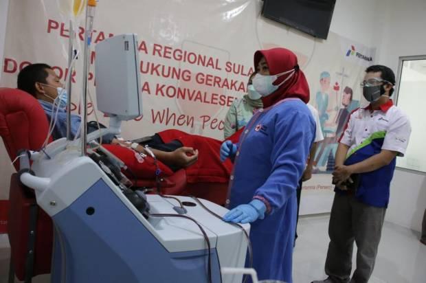 Pertamina Group Lakukan Donor Plasma Konvalesen Secara Serentak