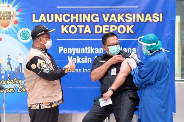 Sudah Disuntik Vaksin, Wakil Wali Kota Depok Positif Covid-19