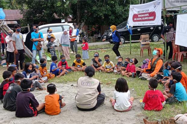 BMM Bersama Amanah Takaful Salurkan Bantuan Korban Gempa Bumi Mamuju