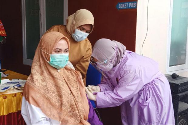 Tak Rasakan Efek Samping, Bupati Ajak Warga Sukseskan Vaksinasi Covid-19