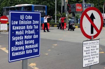 Besok, Ini Jalan-jalan di Kota Tua Jakbar yang Terapkan Kawasan Rendah Emisi
