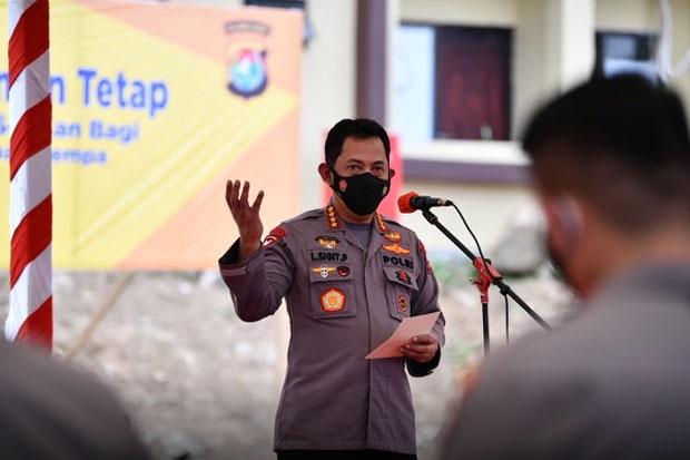 Kapolri Apresiasi Respons Cepat Gubernur Sulsel Terhadap Gempa Sulbar