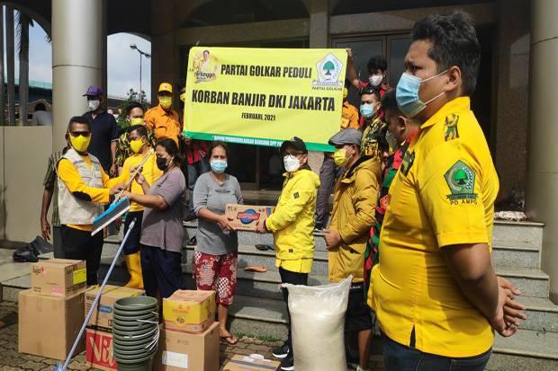 Banjir Jakarta karena Belum Tuntasnya Proyek Normalisasi Kali